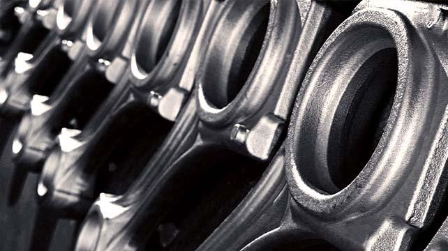 Bielle motore grezze