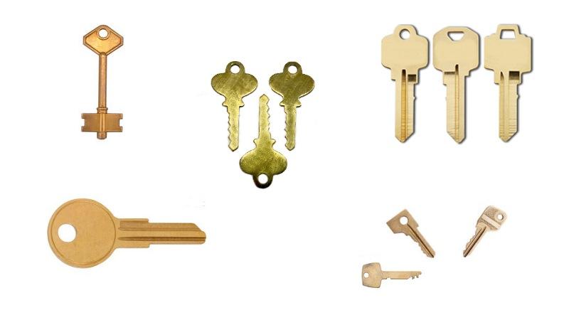 esempio produzione chiavi in ottone